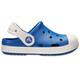 Crocs Bump It Sandali Bambino blu/bianco